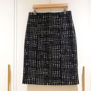 Theory Dakira Hatch Skirt